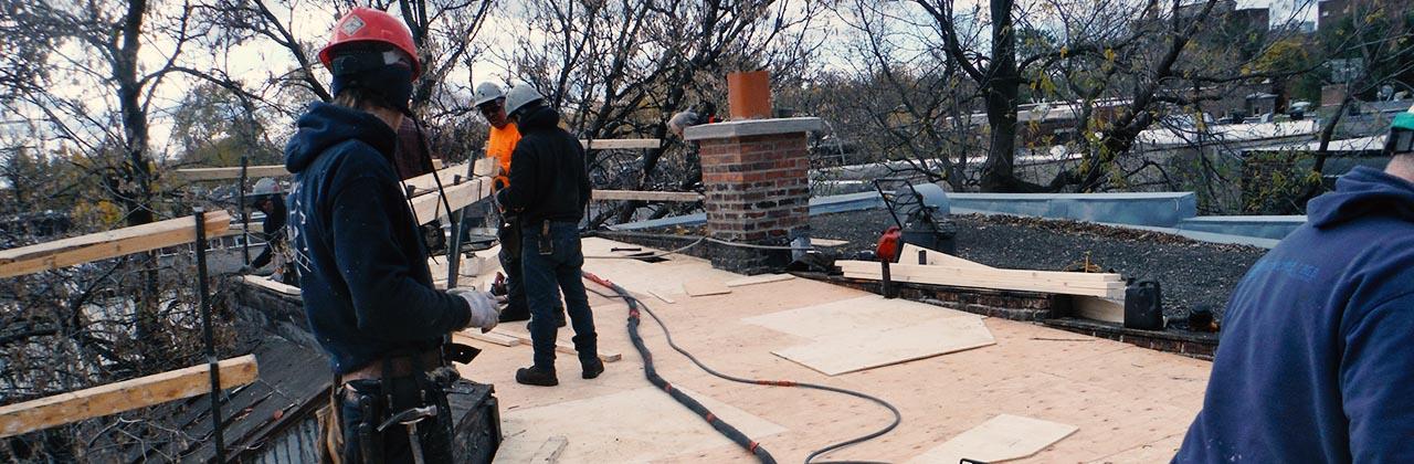 R paration de fuite mile leli vre ferblantier couvreur for Garage reparation toit ouvrant