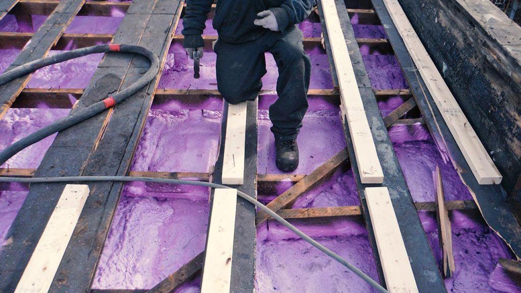 Etape de construction de toit Emile Lelievre Ferblantier couvreur