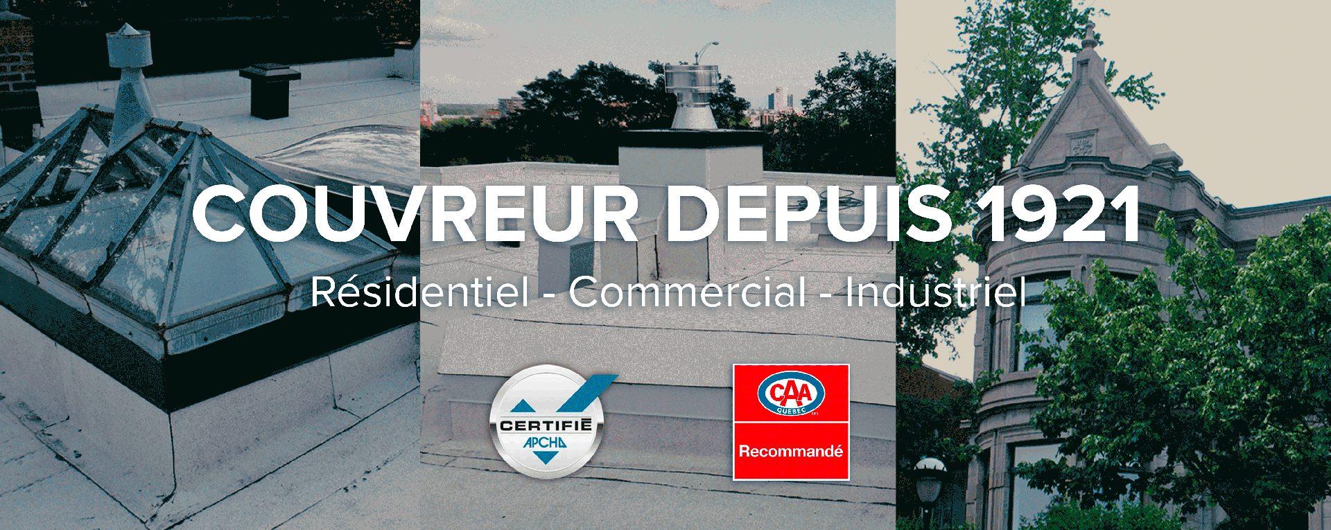Montreal-Immeuble-toit-emile-Lelievre-Couvreur-Ferblantier